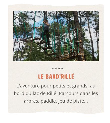 BaudRillé Parc aventure