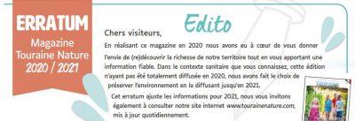 Erratum magazine 2021 FR