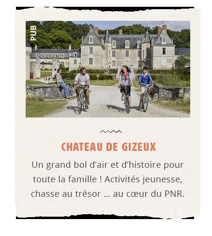 Publicité Château de Gizeux